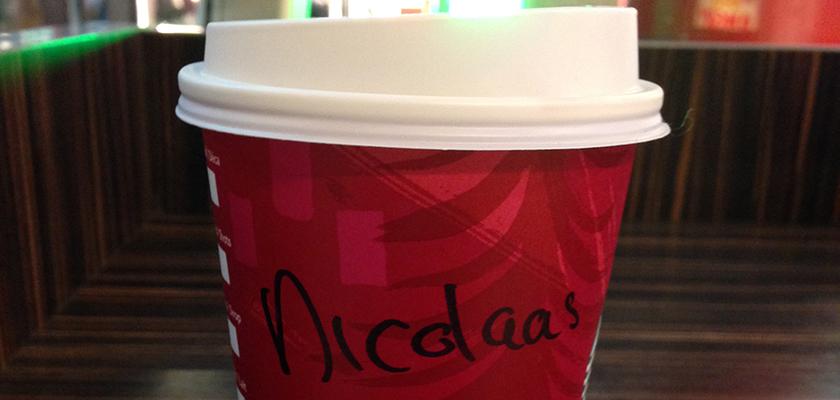 beker Starbucks-koffie